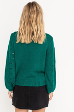 Load image into Gallery viewer, Esmeralda Open Knit Sweater