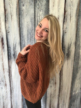 Load image into Gallery viewer, Slouchy Knit Sweater