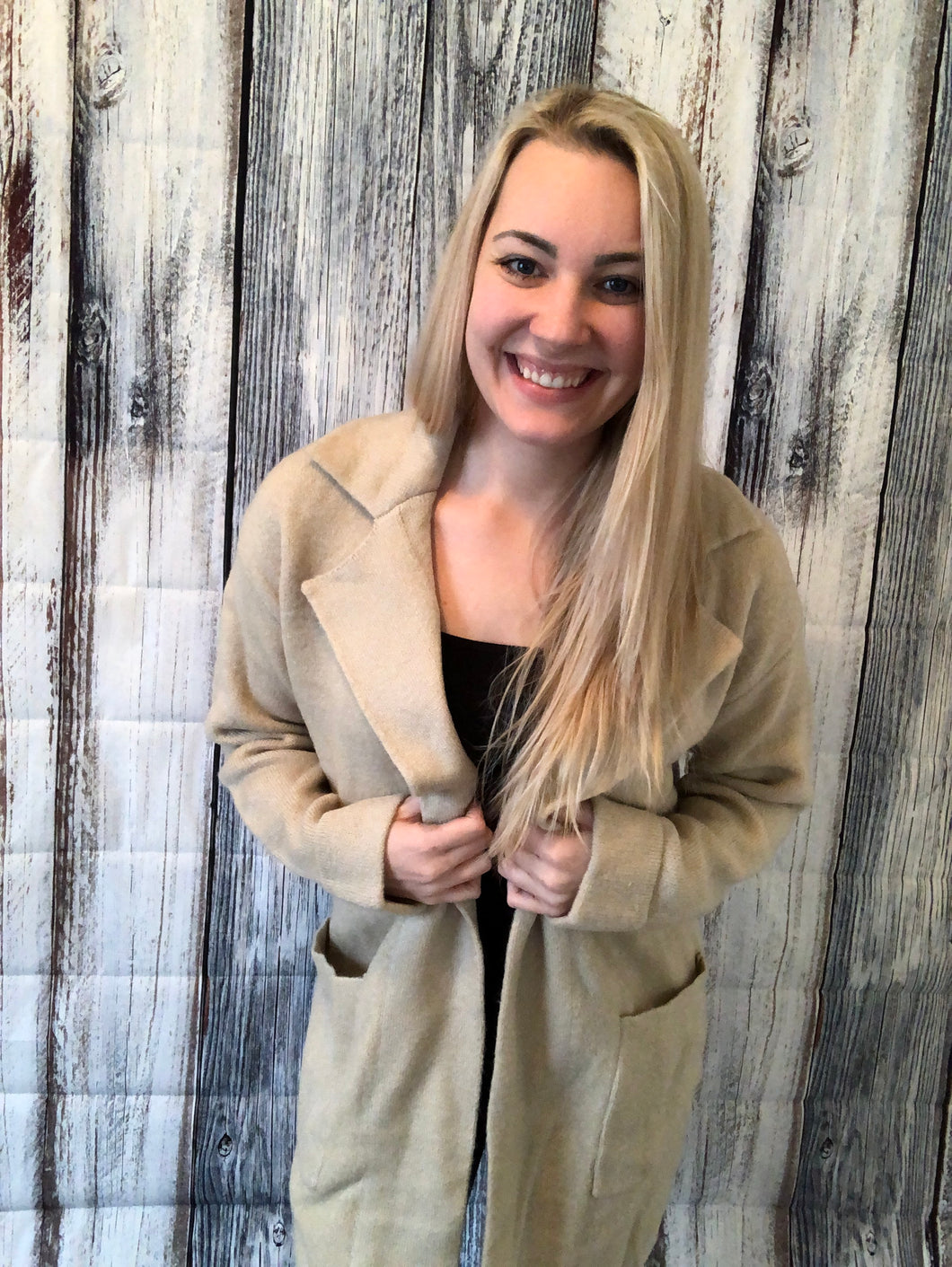 Abby Long Sweater Cardigan Jacket