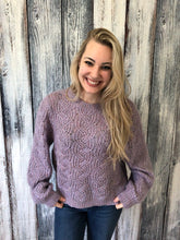 Load image into Gallery viewer, Ariel Cable Knit Sweater