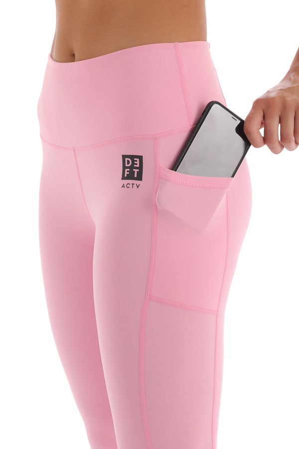 Deft Actv Women's Everyday Leggings - Pink - deftcollection.com