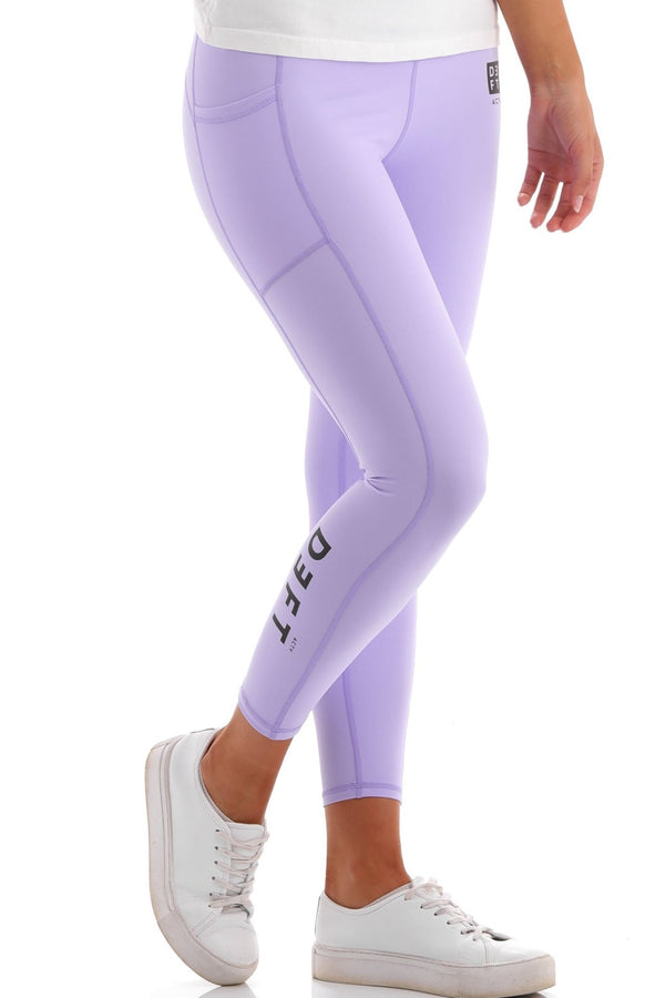 Deft Actv Women's Everyday Leggings - Violet - deftcollection.com