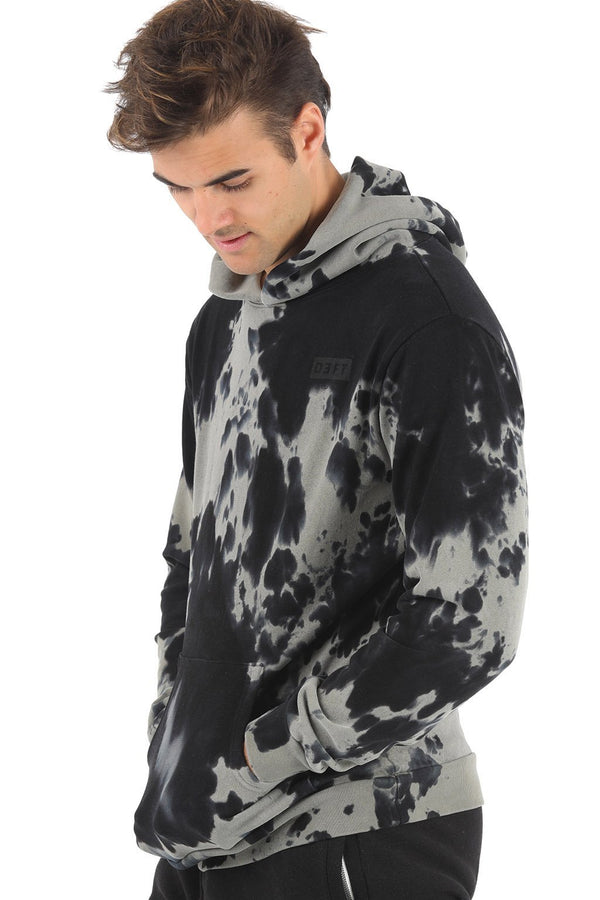 Deft Lndry Mens Hood - Cookie Tie Dye - deftcollection.com