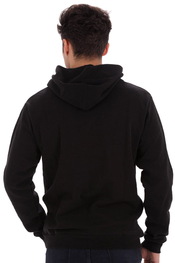 Deft Lndry Mens Hood - Matt Black - deftcollection.com