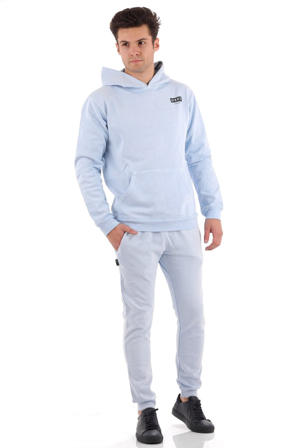 Deft Lndry Mens Hood - Pastel Blue - deftcollection.com