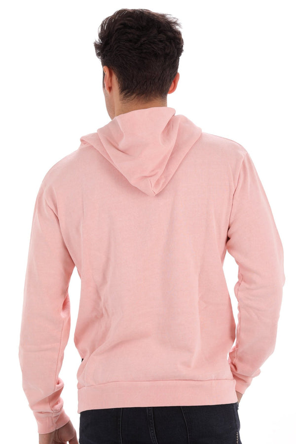 Deft Lndry Mens Hood - Pastel Pink - deftcollection.com