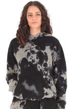 Deft Lndry Oversized Women's Hood - Cookie Tie Dye - deftcollection.com