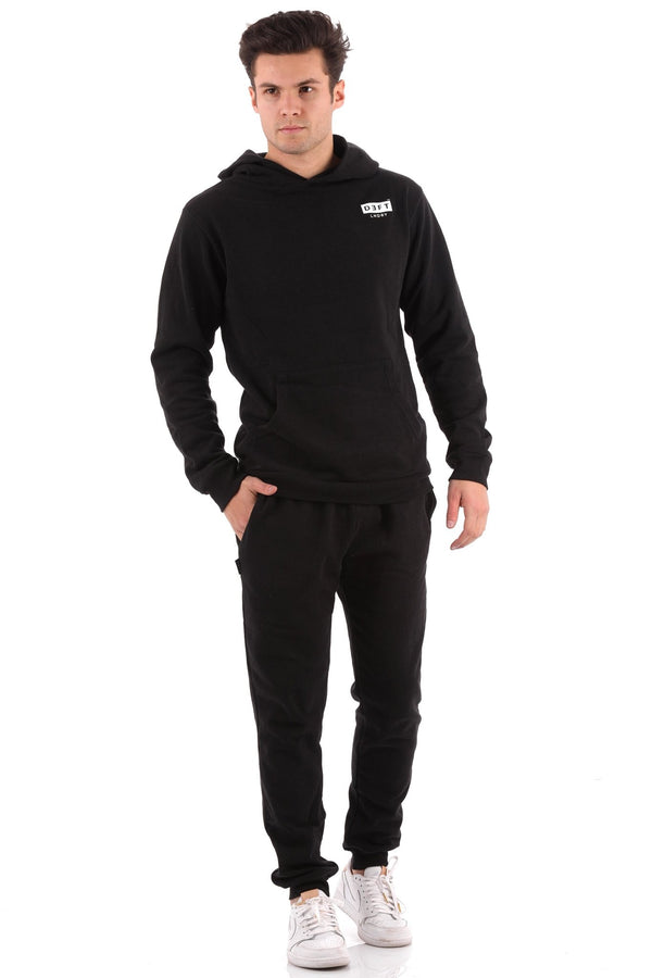 Deft Lndry Track Pants - Black - deftcollection.com