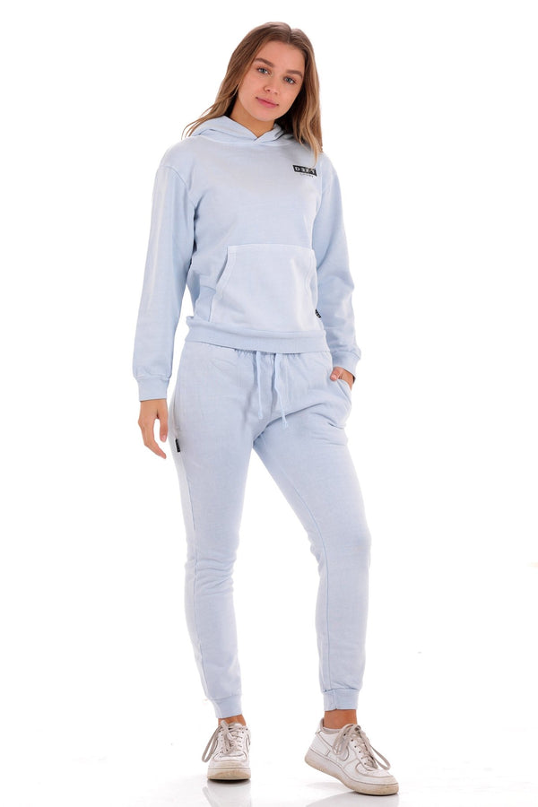 Deft Lndry Track Pants - Pastel Blue - deftcollection.com