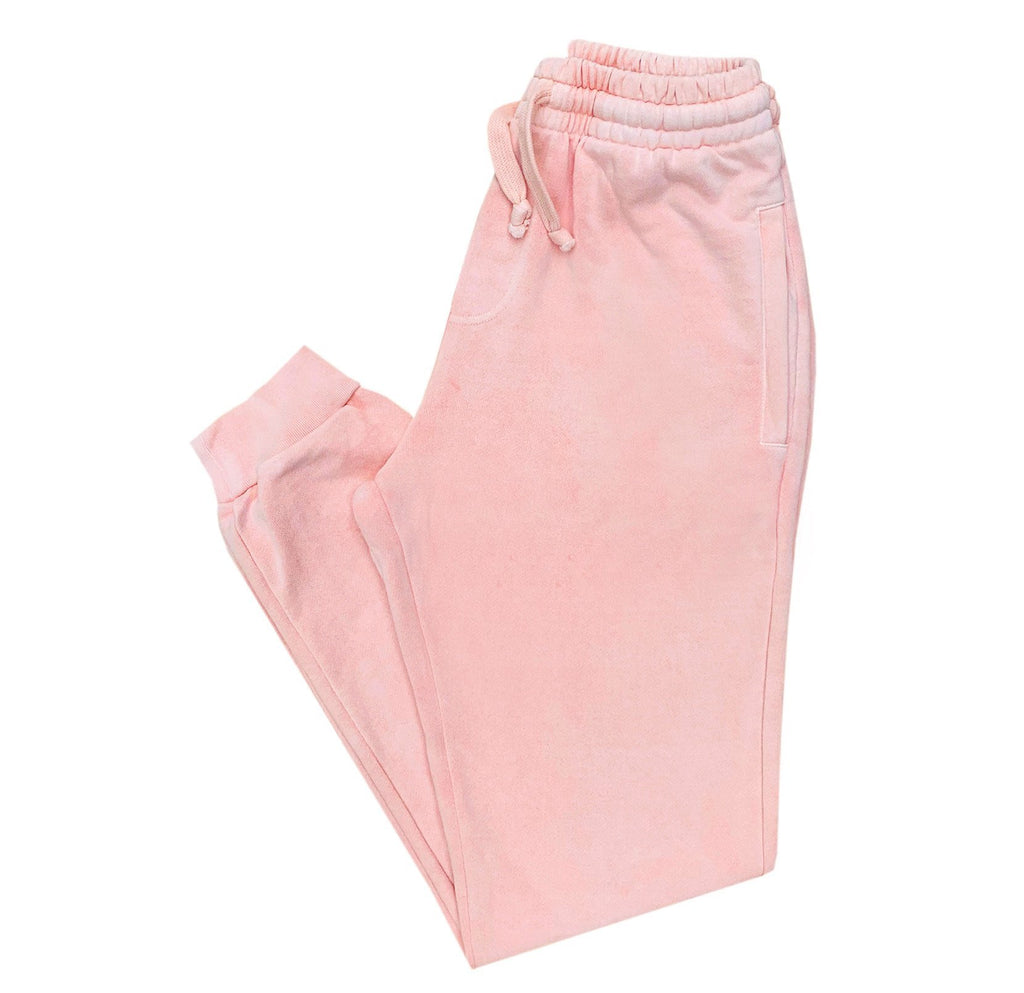 Deft Lndry Track Pants - Pastel Pink - deftcollection.com