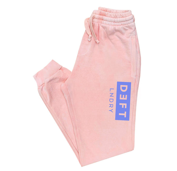 Deft Lndry Track Pants - Pastel Pink / Purple - deftcollection.com