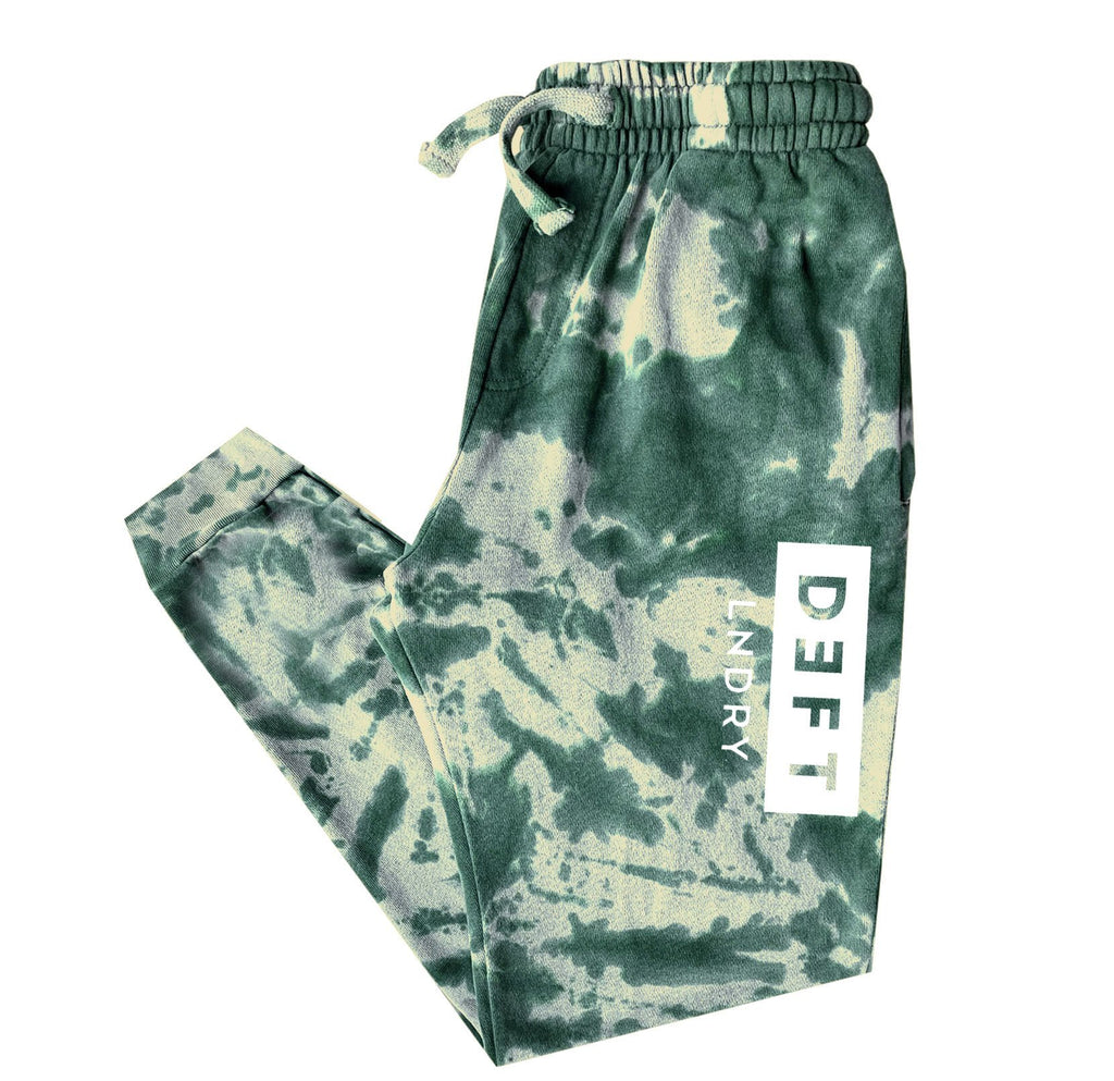 Deft Lndry Track Pants - Toffee Apple Tie Dye - deftcollection.com