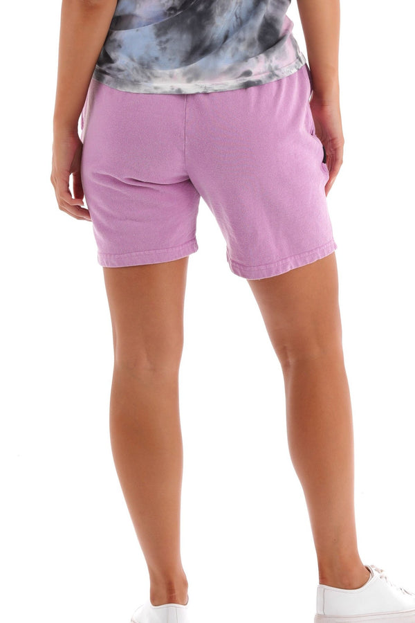 Deft Lndry Track Shorts - Fluoro Purple - deftcollection.com