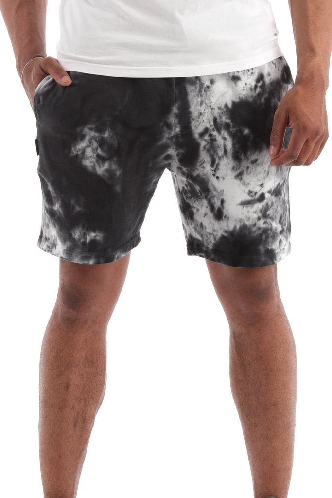 Deft Lndry Track Shorts - Vanilla Rock - deftcollection.com