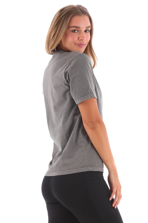 Deft Lndry Women's T-Shirt (Relaxed Fit) - Pigment Black - deftcollection.com