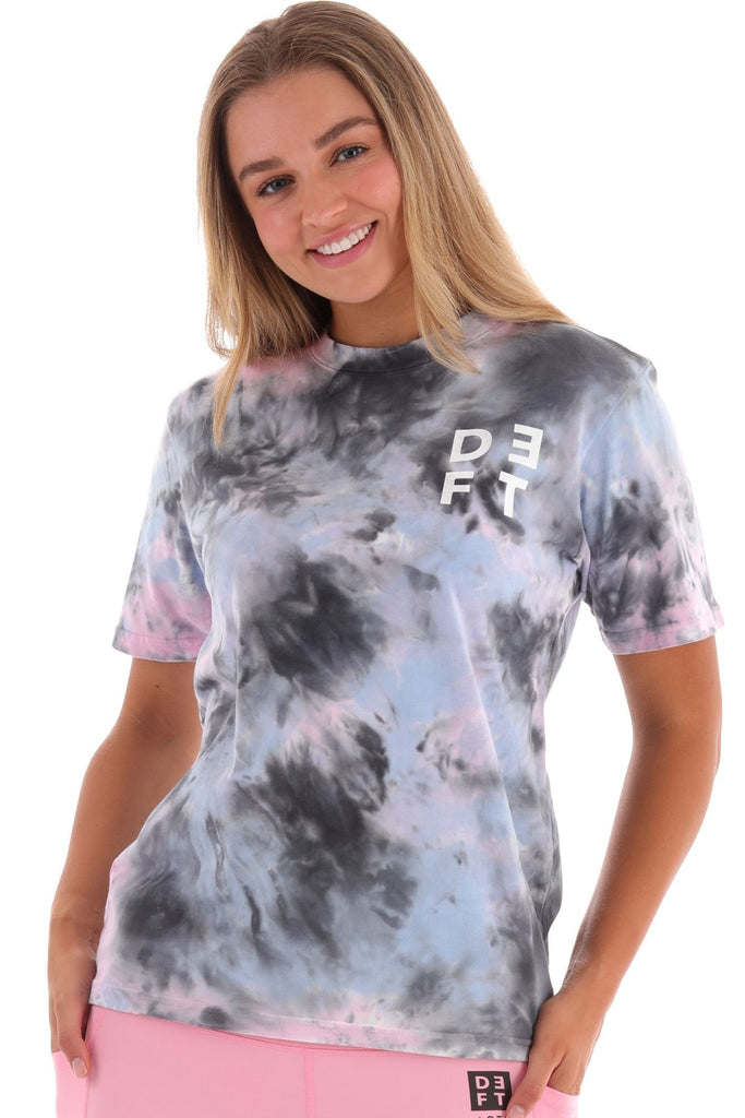 Deft Lndry Women's T-Shirt (Relaxed Fit)- Sunset Passion - deftcollection.com