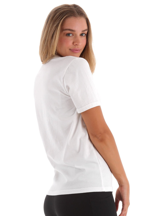 Deft Lndry Women's T-Shirt (Relaxed Fit) - Vanilla - deftcollection.com