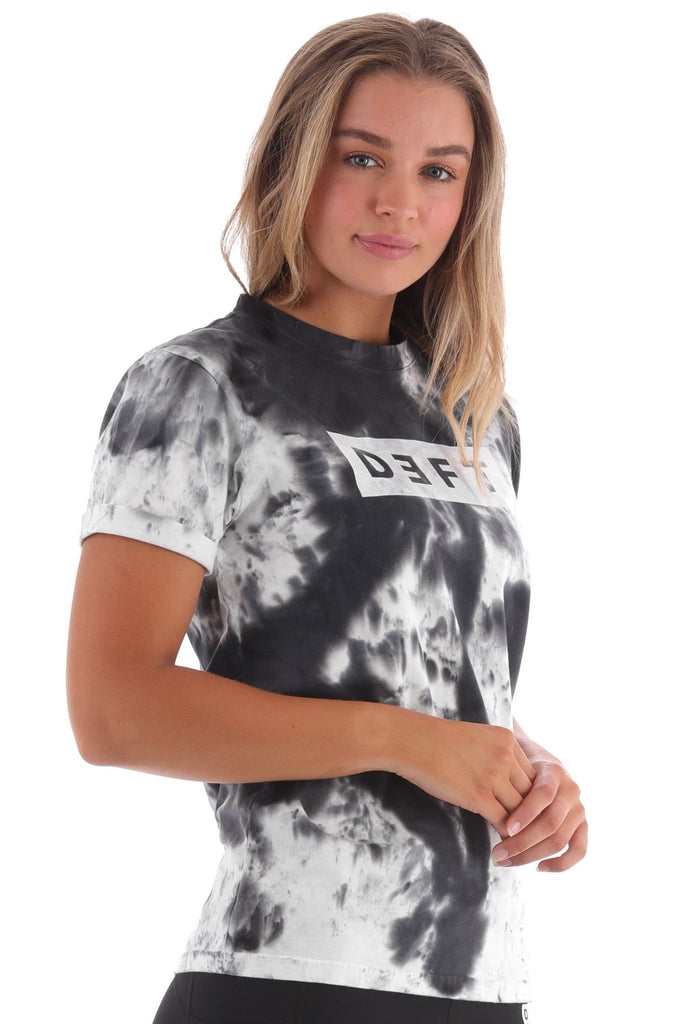 Deft Lndry Women's T-Shirt (Relaxed Fit) - Vanilla Rock - deftcollection.com