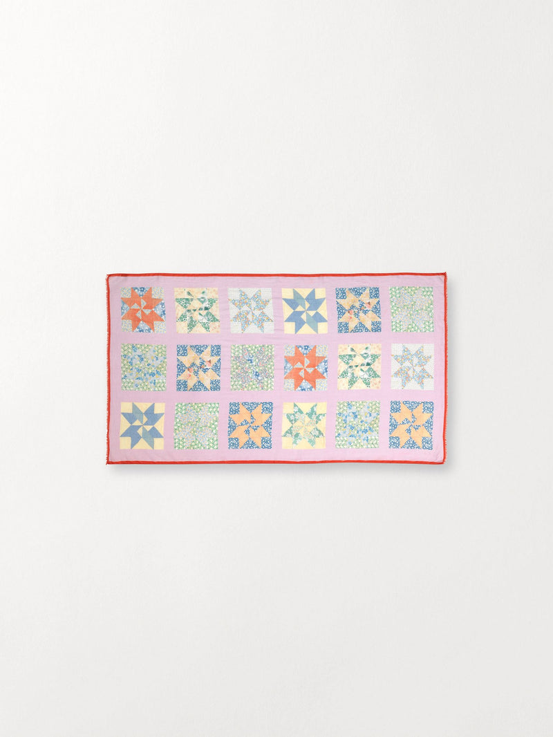 Becksöndergaard, Pepe Patch Scarf - Multi Col., outlet