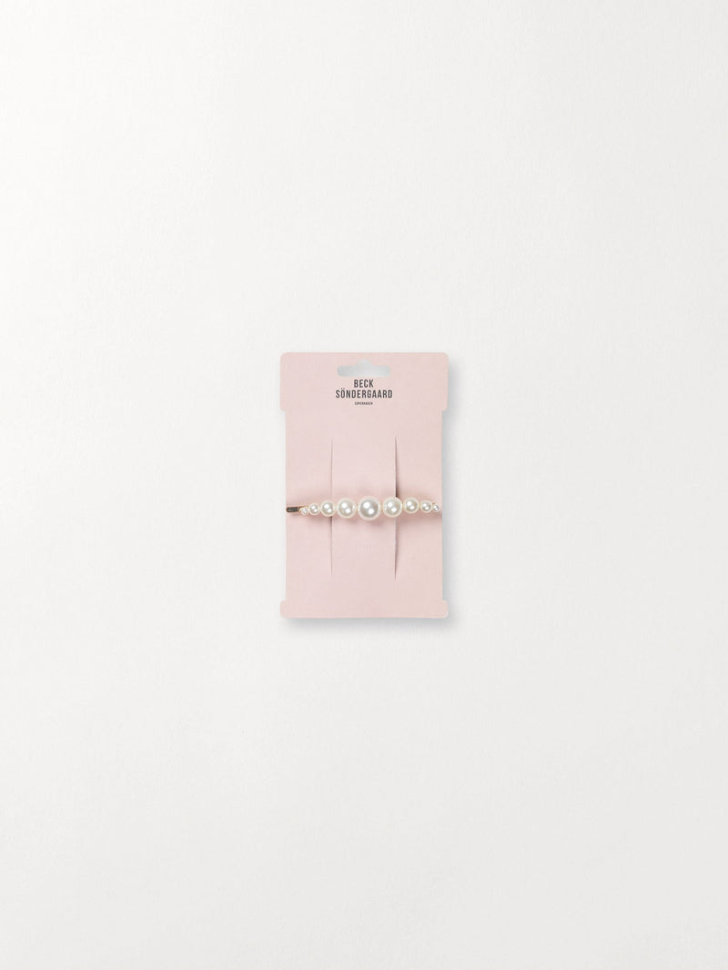 Becksöndergaard, Camis Pearl Clip  - White, outlet, outlet
