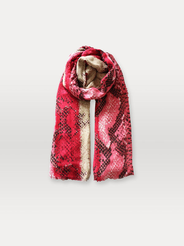 Becksöndergaard, Sigva Mowo Scarf - Red, scarves, scarves, gifts