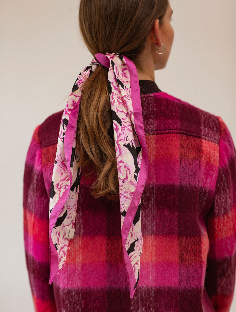 Becksöndergaard, Kacayo Siru Scarf  - Rose Violet, scarves, outlet flash sale, outlet flash sale, sale, sale