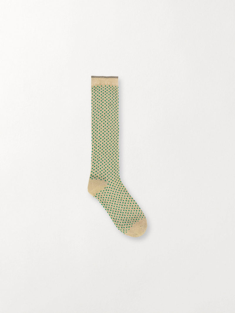 Becksöndergaard, Duca Small Dots - Verdant Green, outlet