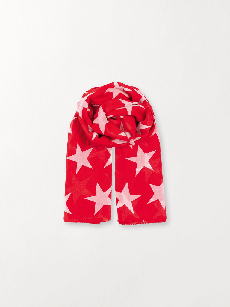 Becksöndergaard, Fine Twilight - Fiery Red, accessories, scarves, accessories, star scarves, scarves, accessories