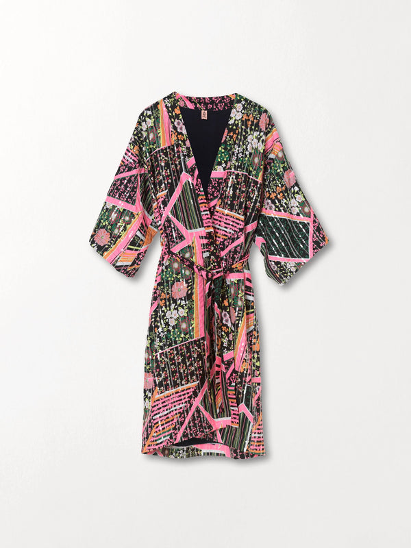 Becksöndergaard, Flowerwhirl Kimono Dress - Multi Col., clothing, clothing, clothing, gifts for special occasions, gifts for special occasions