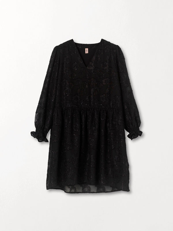 Becksöndergaard, Glitrala Sanna Dress  - Black, clothing, clothing