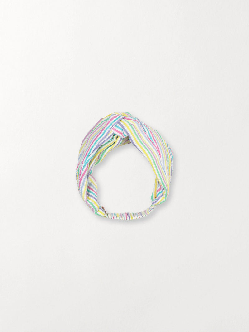 Becksöndergaard, Multi Stripes Hairband - Yellow, outlet flash sale, outlet flash sale