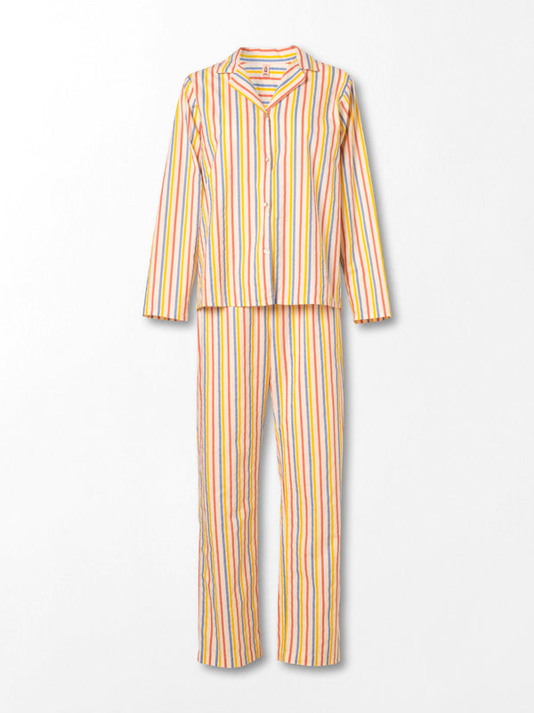 Becksöndergaard, Stripe Pyjamas Set - Multi Col., gifts