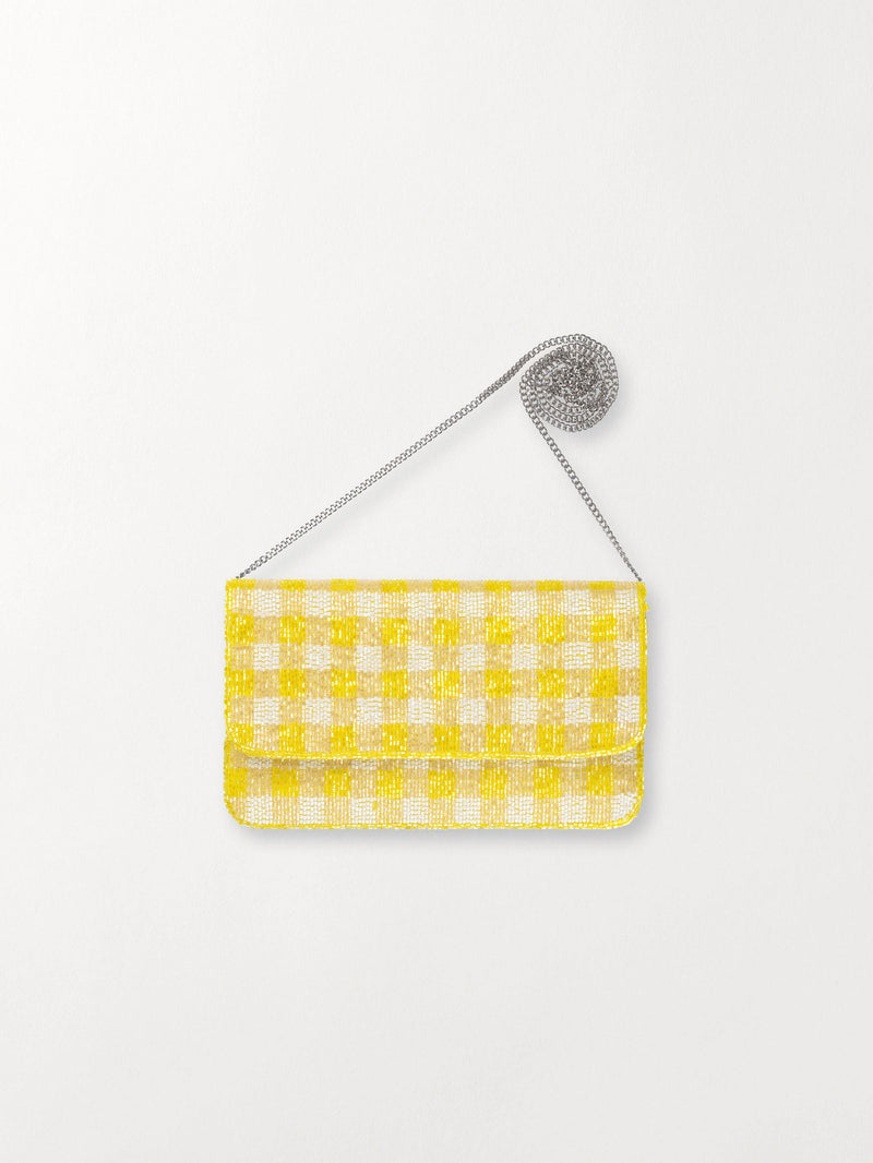 Becksöndergaard, Tipo Check bag - Yellow, outlet flash sale, outlet flash sale