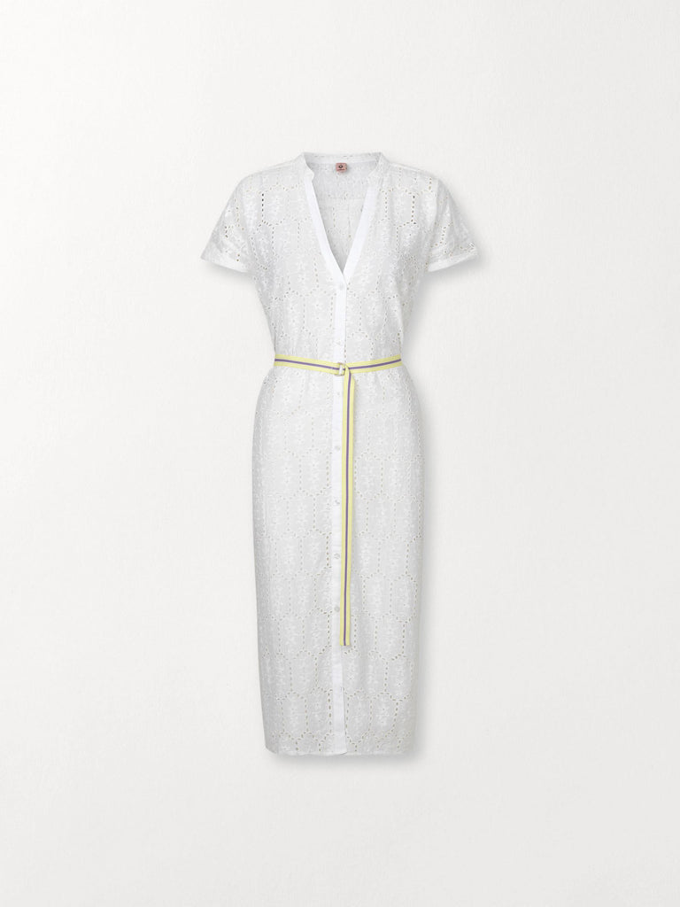 Becksöndergaard, Anglaise Casey Long Shirt - White, clothing, dresses, clothing, news