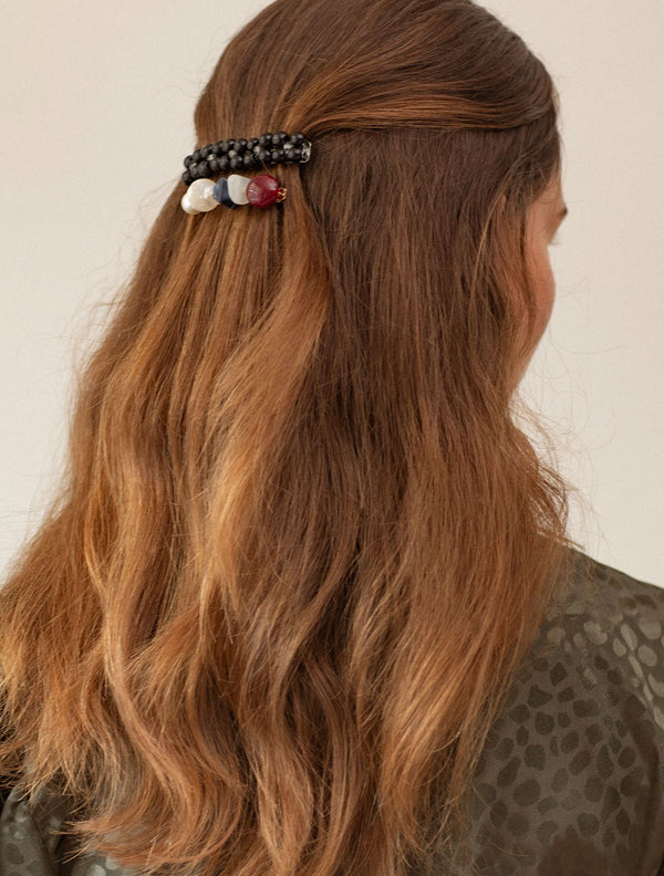 Becksöndergaard, Hurley Hairclip - Black, accessories, hair accessories, accessories, hair accessories, accessories, gifts, gifts, gifts for special occasions, gifts for special occasions, gifts for special occasions, gifts for special occasions