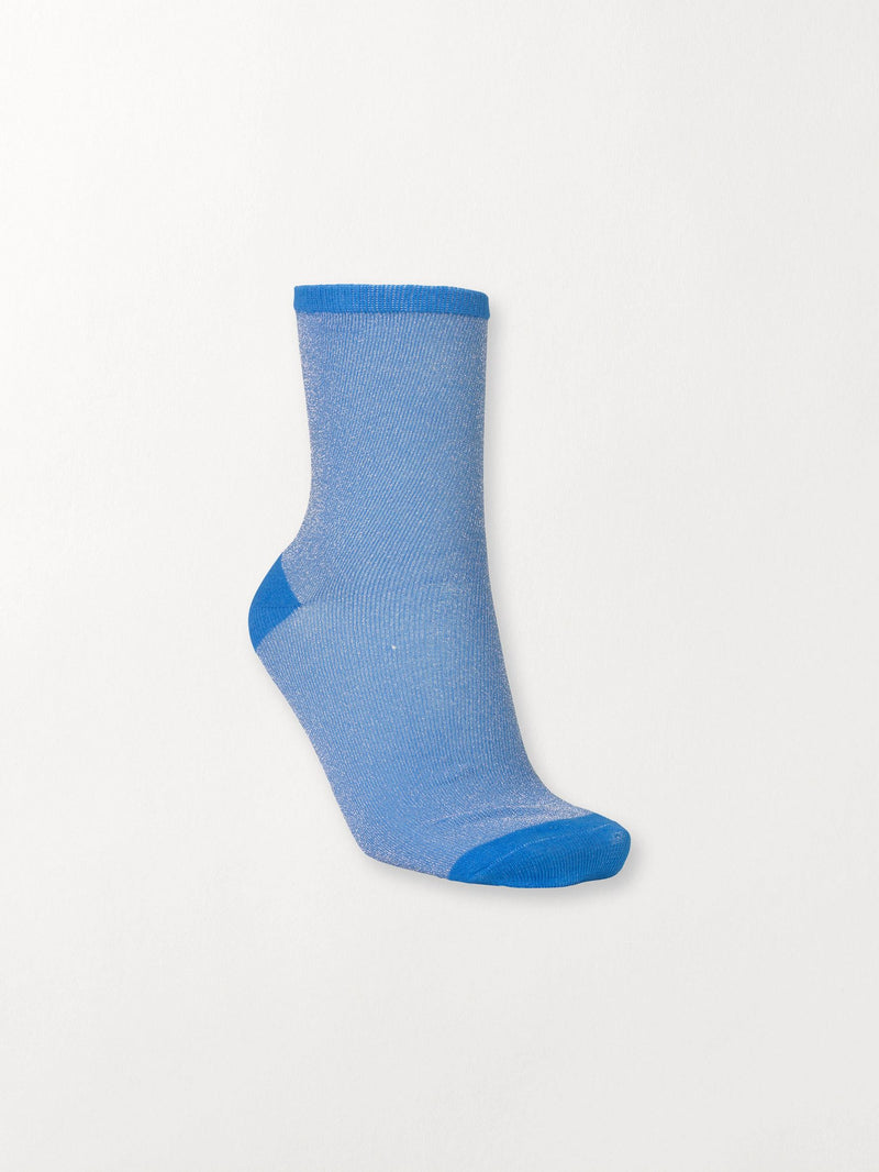 Becksöndergaard, Dina Solid Coll. - Blue Sky, socks, accessories, socks, accessories