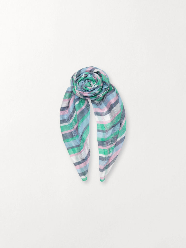 Becksöndergaard, Ariel - Green, accessories, scarves, accessories, printed scarves, scarves, accessories, sale