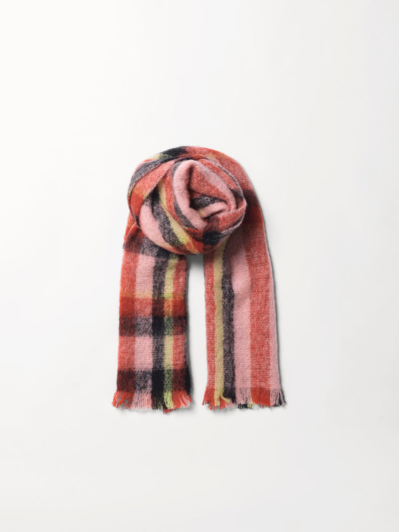 Becksöndergaard, Stripe Ingelis Scarf - Mix Colour, outlet, outlet, sale, sale