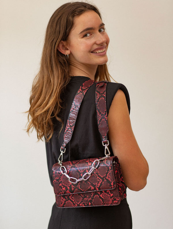 Becksöndergaard, Snake Maya Bag  - Grenadine, bags, bags, gifts, gifts, gifts for special occasions, gifts for special occasions