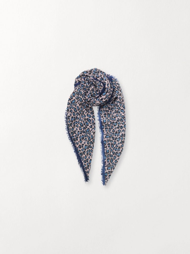 Becksöndergaard, Cleo - Light Blue, accessories, scarves, accessories, printed scarves, scarves, accessories, sale