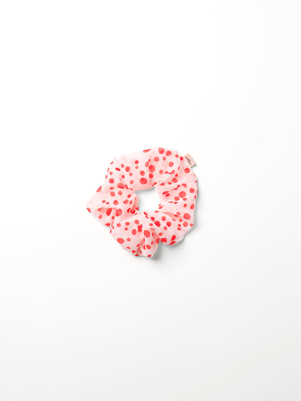 Becksöndergaard, Dotted Scrunchie - Red Love, accessories