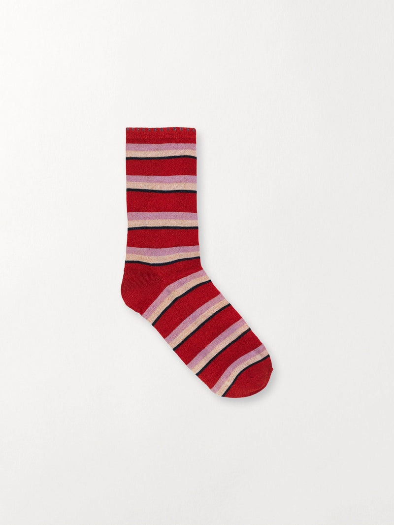 Becksöndergaard, Dina Summer Stripe - Red Love, outlet, outlet
