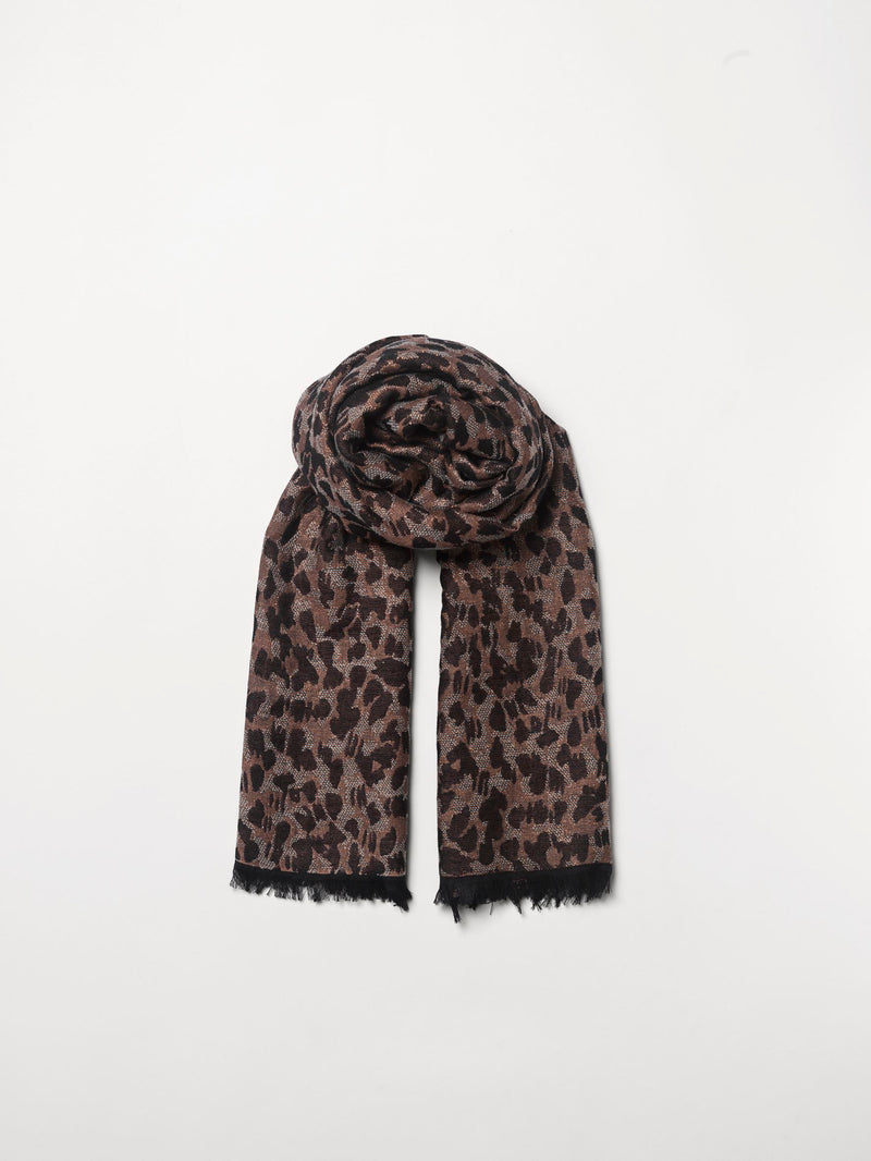 Becksöndergaard, Luraleo Viwo Scarf  - Brownish, outlet flash sale, outlet flash sale, sale, sale