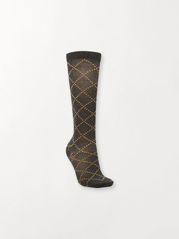 Becksöndergaard, Duca Love - Black, socks, accessories, socks, accessories