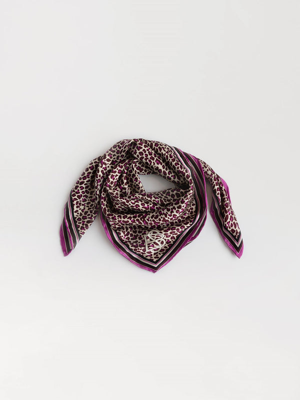 Becksöndergaard, Leopotite Sia Scarf  - Vivid Viola, outlet flash sale, outlet flash sale, sale, sale