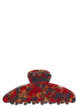 Becksöndergaard, Marbling Hair Clamp - Red Love, outlet