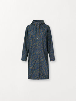 Becksöndergaard, Zebra Magpie Raincoat - Army Green, outlet flash sale