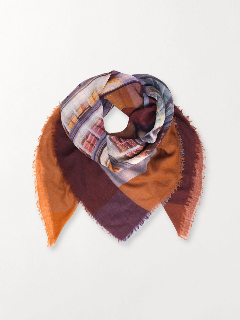 Becksöndergaard, Ellimo Scarf - Multi Col., outlet flash sale, outlet flash sale