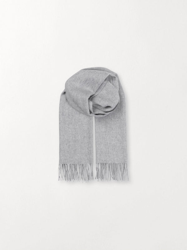 Becksöndergaard, Crystal Edition - Light Grey Melange, scarves, scarves, scarves