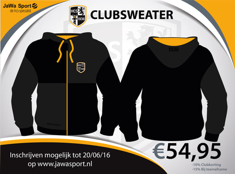 HCS Hooded club vest jongens/mannen